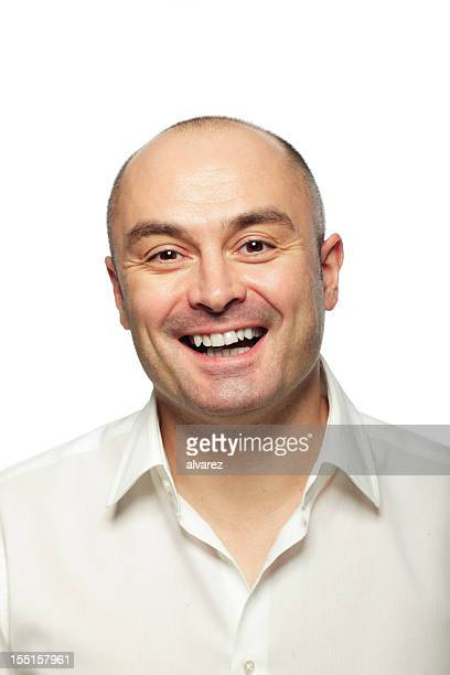 Retrato de um sorridente