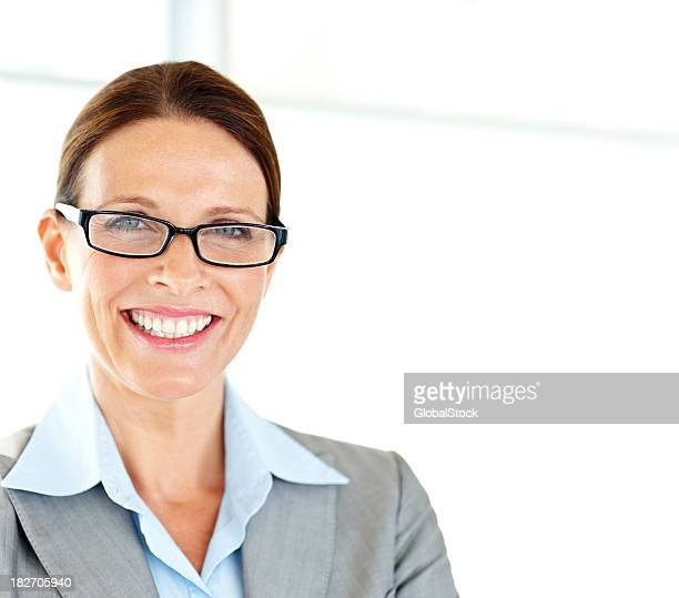 Porträt einer lächelnden Reife Geschäftsfrau
