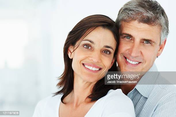 Portrait of a smiling mature couple