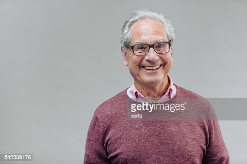 Portrait of a Smiling Senior Business Man