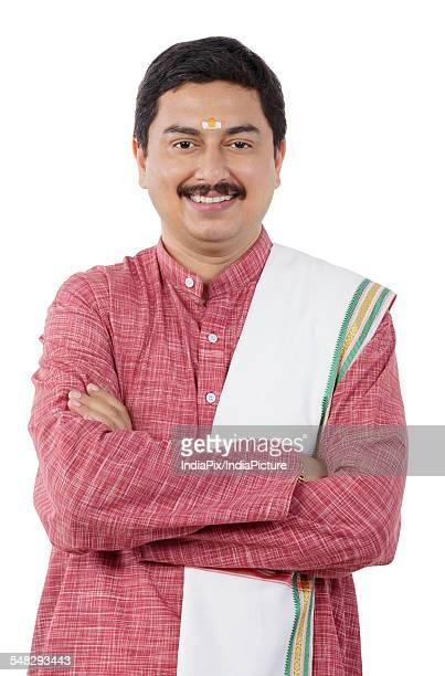 Portrait of a South Indian man