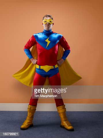Portrait of a super hero