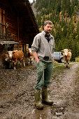 Portrait of a Swiss Farmer