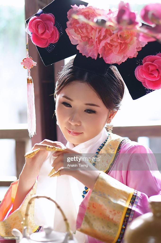 Portrait of a Taiwanese woman