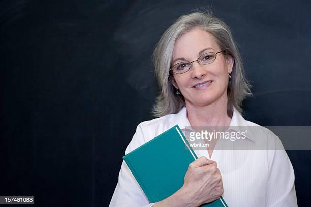 Lehrer an der Tafel (XXL