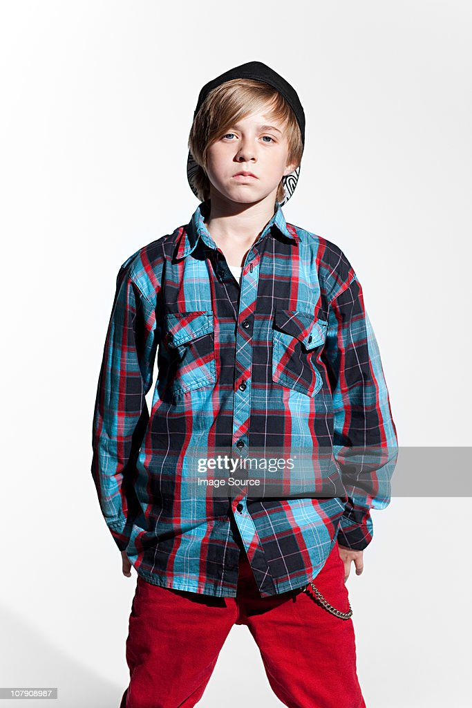 Portrait of a teenage boy : Stock Photo