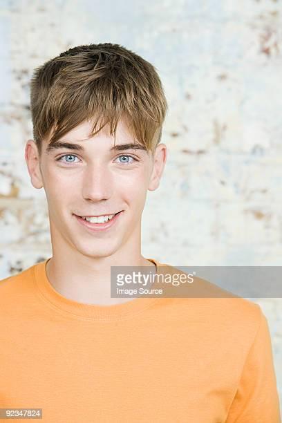 Porträt von einem Teenager-Jungen