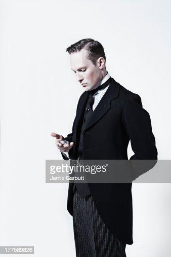 Portrait of a well dressed gentleman
