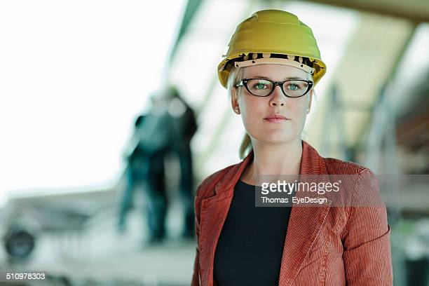 Portrait of a Woman Architect