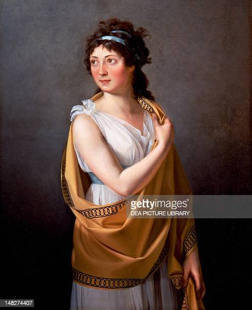 Portrait of a woman ca 18101820 attributed to JacquesLouis David San Diego San Diego Museum Of Art