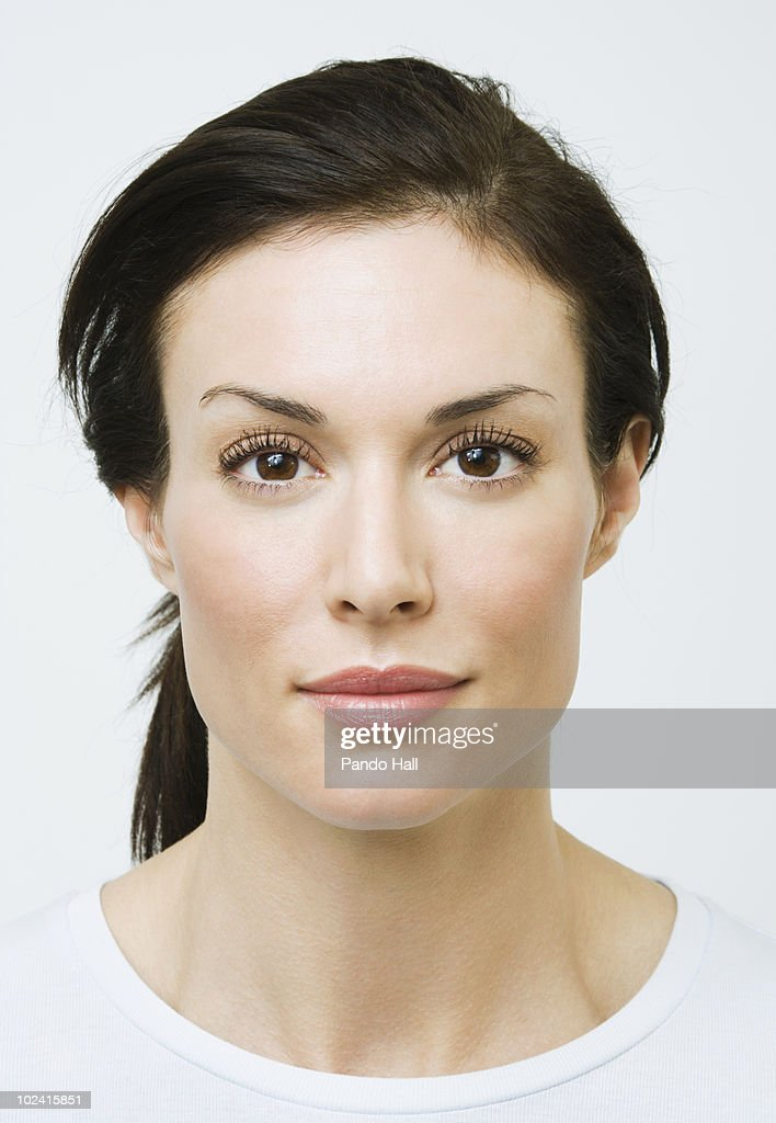 Portrait of a woman, close-up