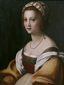 Portrait of a woman Found in the collection of Museo del Prado Madrid