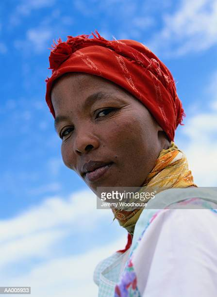 Portrait of a Woman in South Africa