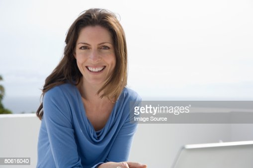 Portrait of a woman : Stock Photo