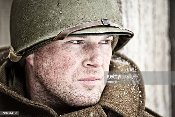 Portrait of a WWII Soldier
