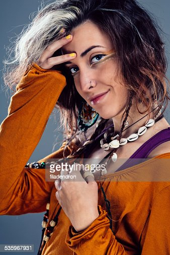 Portrait of a youn girl : Stock Photo