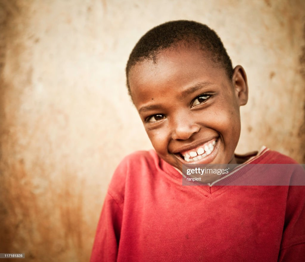 Portrait of a Young African Girl : Stock Photo