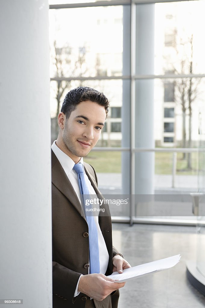 Portrait of a young businessman : Stock Photo