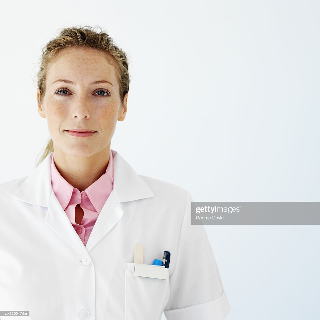 Portrait of a young female medical professional