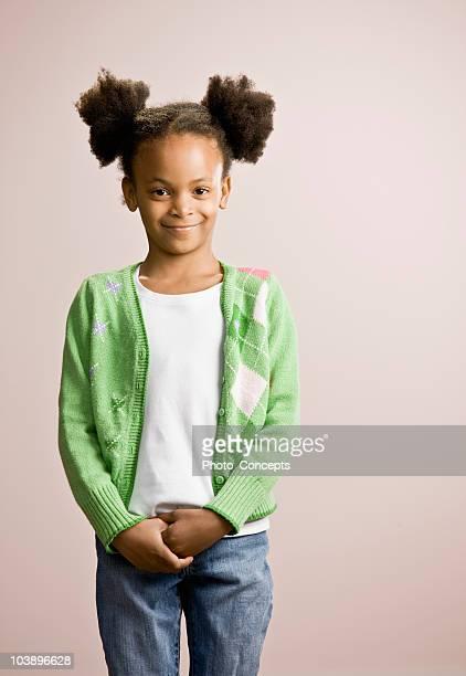 Porträt von ein junges Mädchen