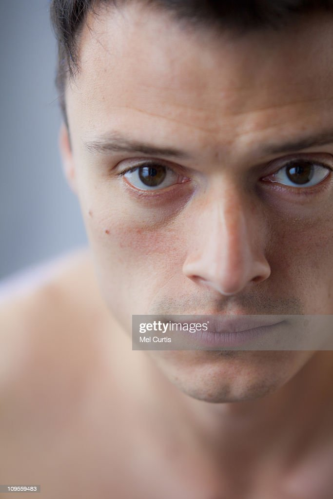 Portrait of a young Hispanic man : Stock Photo