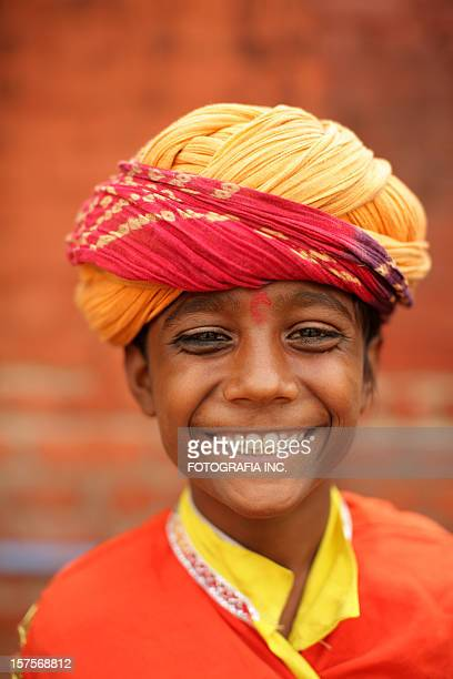 Portrait of a young Indian