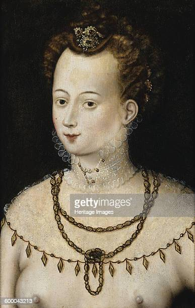 Portrait of a young lady An Allegory of Beauty c 1580 Private Collection Artist Anonymous
