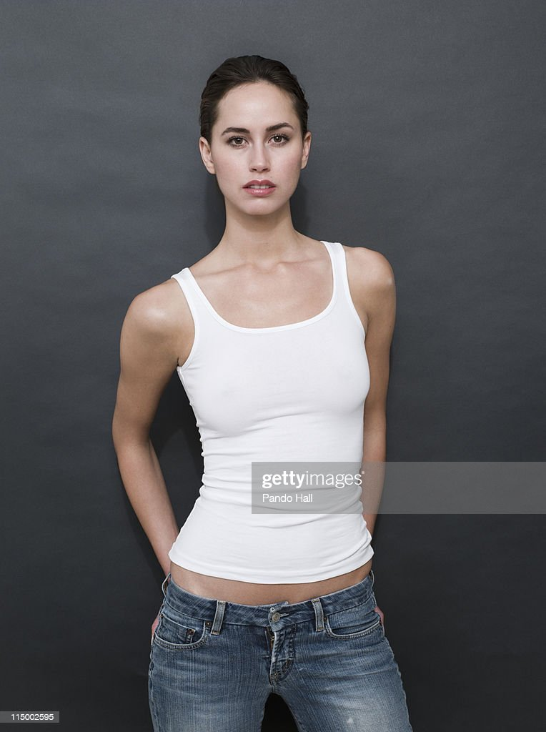 Portrait of a young woman : Stock Photo