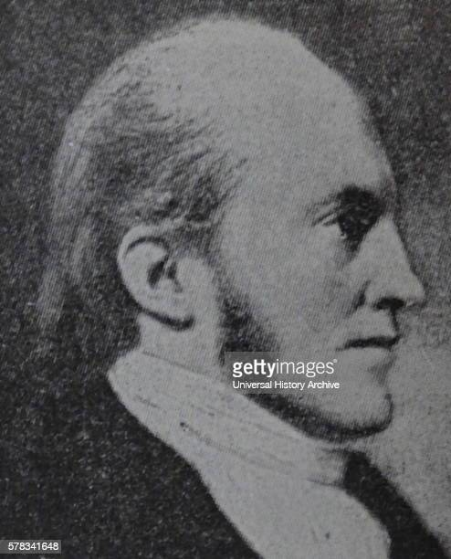 Portrait of Aaron Burr an American politician and 3rd Vice President of the United States Dated 19th Century