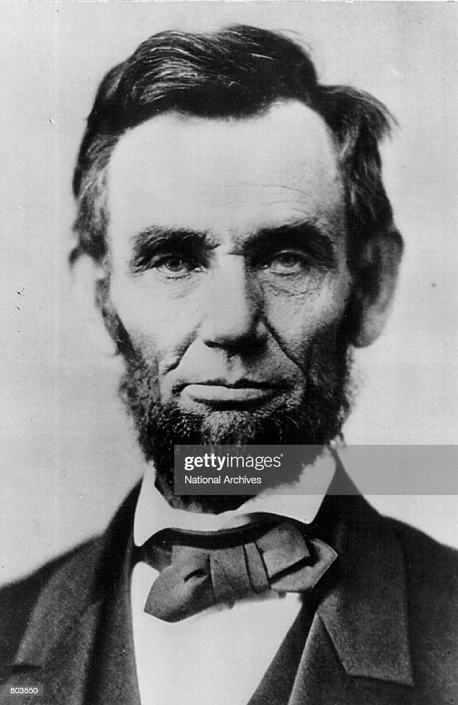Portrait of <a gi-track='captionPersonalityLinkClicked' href=/galleries/search?phrase=Abraham+Lincoln&family=editorial&specificpeople=67201 ng-click='$event.stopPropagation()'>Abraham Lincoln</a>.