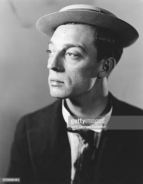 Portrait of actor and comedian Buster Keaton Keaton became a star for his humor and wit