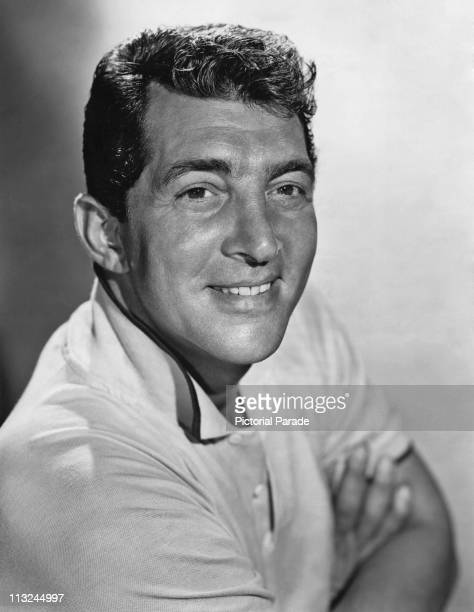 Portrait of actor and singer Dean Martin in the 1950's