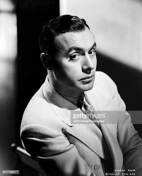 Portrait of actor Charles Boyer for Columbia Pictures 1938