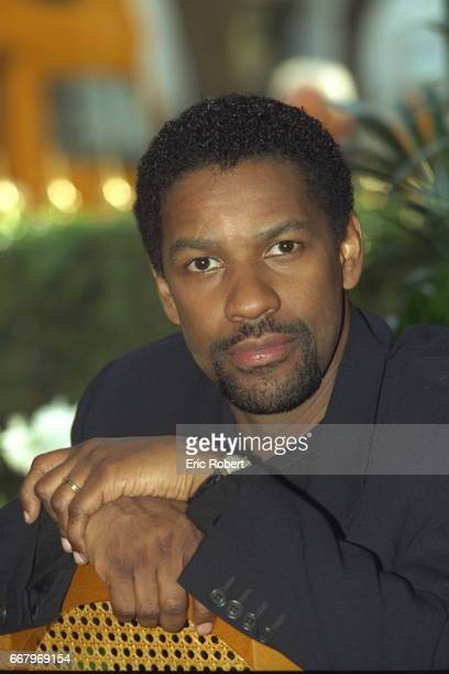 Portrait of actor Denzel Washington