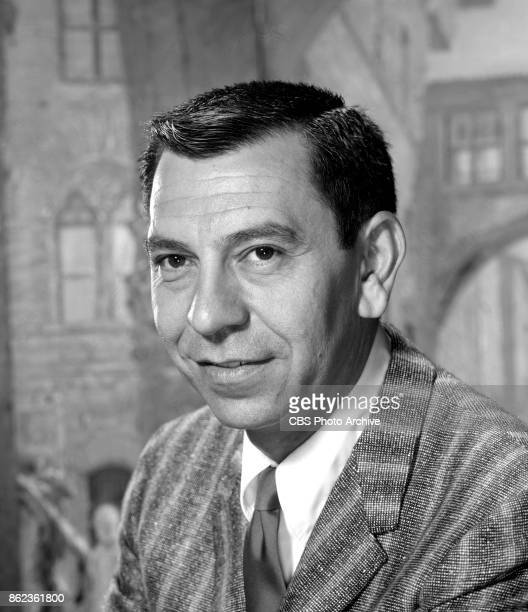 Portrait of actor Jack Webb host and narrator of GE True a dramatic anthology series on CBS television May 30 1962 Los Angeles CA