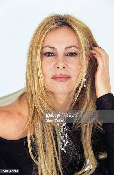 Portrait of actress and television presenter Ana Obregon Madrid Spain