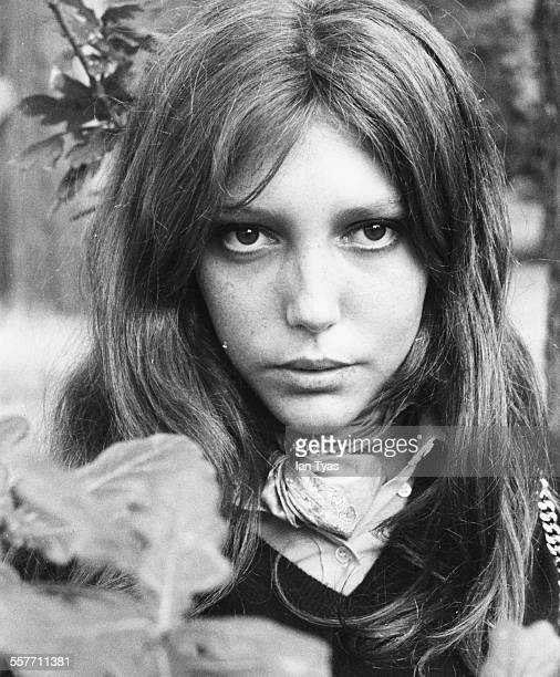 Portrait of actress Anne Wiazemsky as she appears in the film 'Sympathy For The Devil' circa 1968