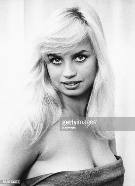 Portrait of actress Barbara Valentin Munich September 23rd 1959