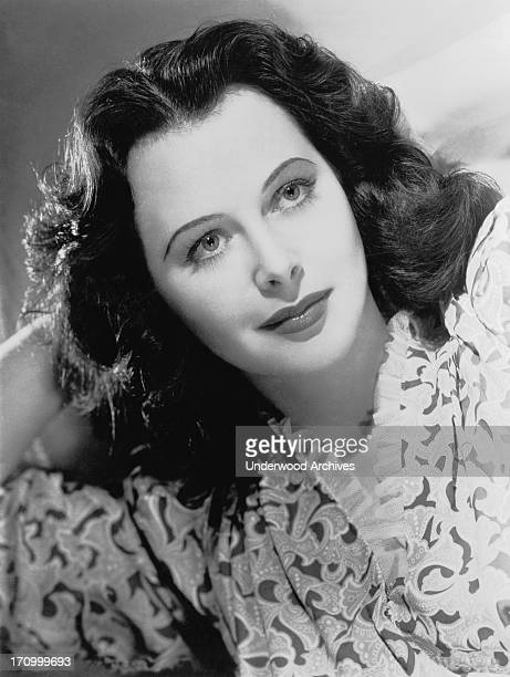 A portrait of actress Hedy Lamarr Hollywood California 1941