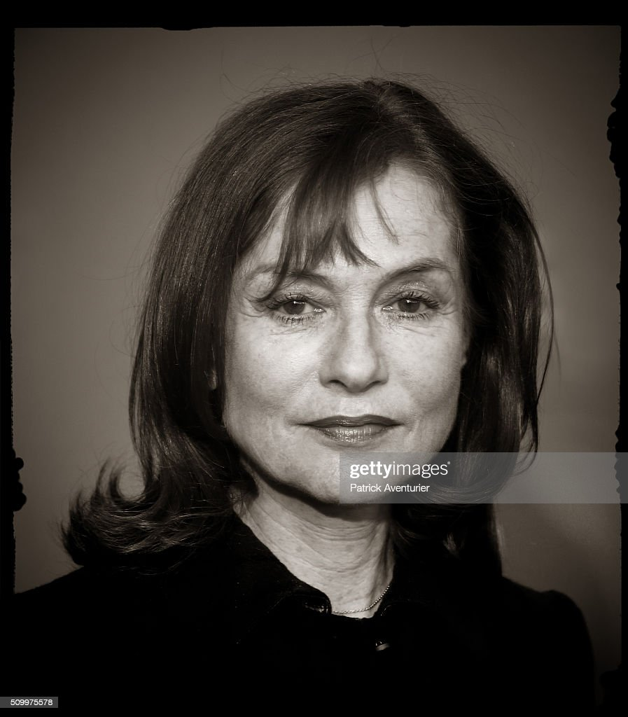 Portrait of actress Isabelle Huppert during the 66th Berlinale International Film Festival on February 13, 2016 in Berlin, Germany.