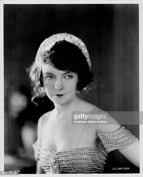 Portrait of actress Lillian Gish circa 19201930