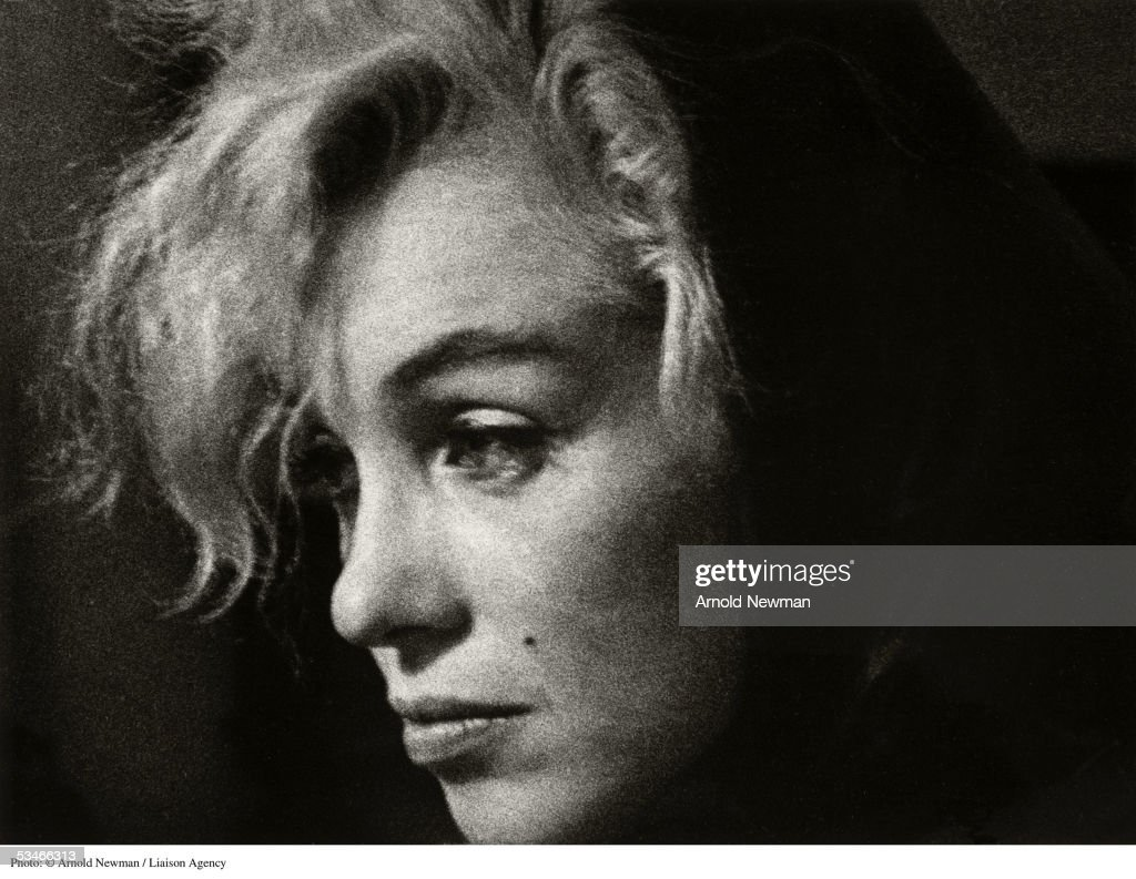 Portrait of actress Marilyn Monroe at party January 20, 1962 in Hollywood, California.