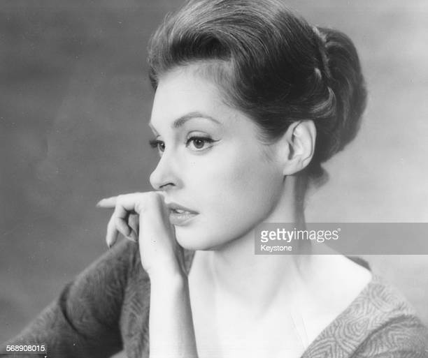 Portrait of actress Nadja Tiller as she appears in the film 'The Difficult Love' Rome January 10th 1963