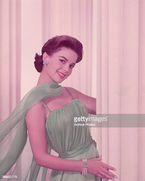 A portrait of actress Natalie Wood circa 1961