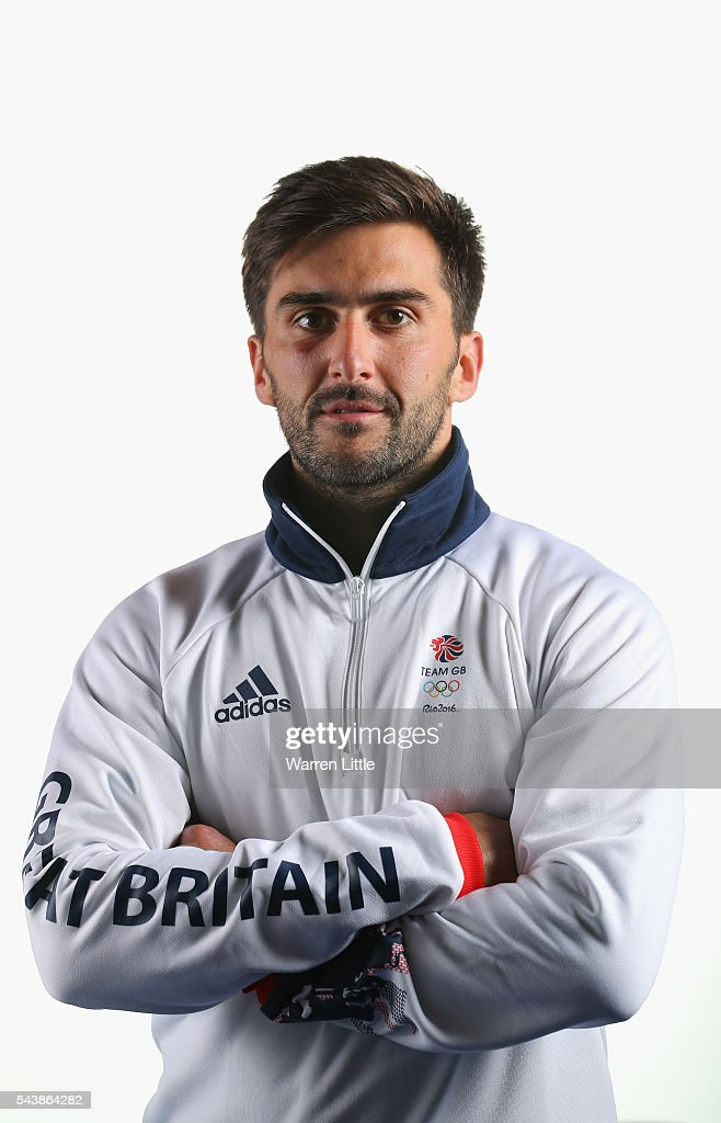 A portrait of Adam Dixon a member of the Great Britain Olympic team during the Team GB Kitting Out ahead of Rio 2016 Olympic Games on June 30, 2016 in Birmingham, England.