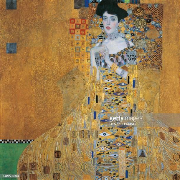 Portrait of Adele Blochbauer by Gustav Klimt 138x138 cm Vienna Österreichischer Galerie Belvedere