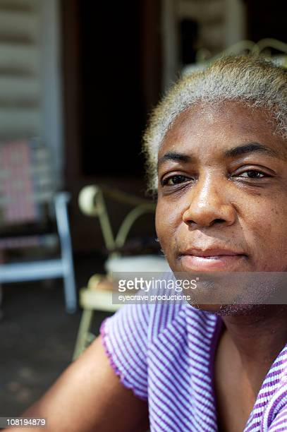 Portrait of African American Senior Woman