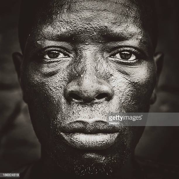 Portrait of african man.