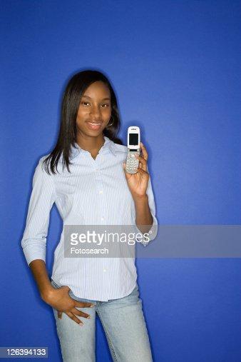 Portrait Of African American Teen 75