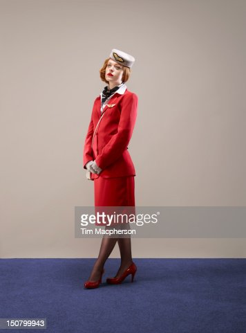 Portrait of Airline Hostess